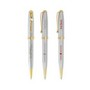 BIC Worthington Chrome Gold Ballpoint