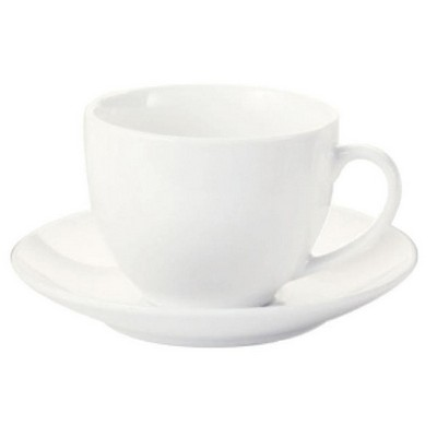 Picture of White Basics Cup & Saucer