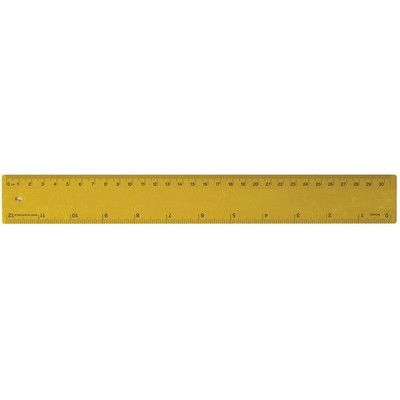 Picture of Ruler 30cm Recycled Yellow