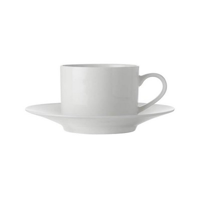 Picture of White Basics Straight Cup & Saucer 250ML