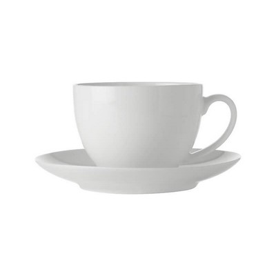 Picture of White Basics Cup & Saucer 280ML