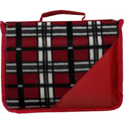 Picture of Fleece blanket in pouch