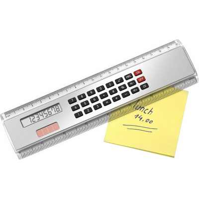 Picture of ABS Ruler (20cm) with calculator