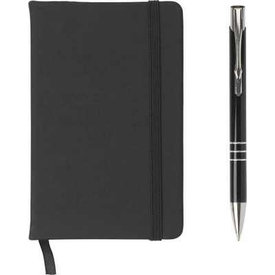 Picture of Notebook and ballpen set.