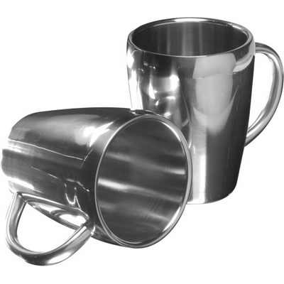 Picture of Set of two steel mugs