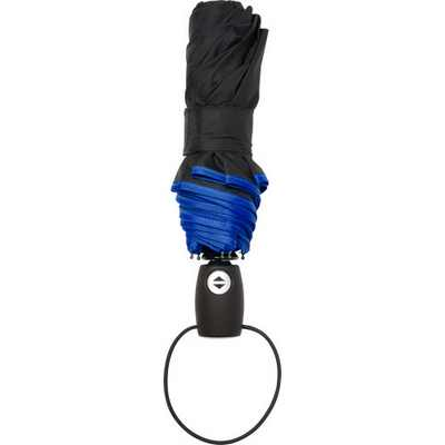 Picture of Automatic pongee (190T) foldable umbrella