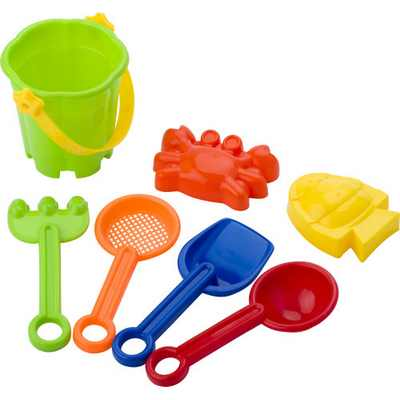 Picture of Mini beach bucket in four colours.