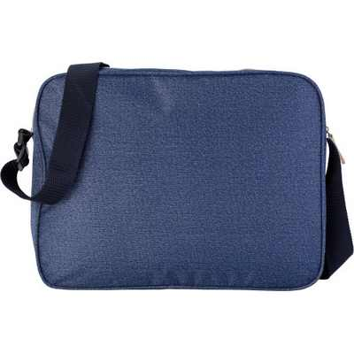 Picture of Polyester laptop bag in denim look