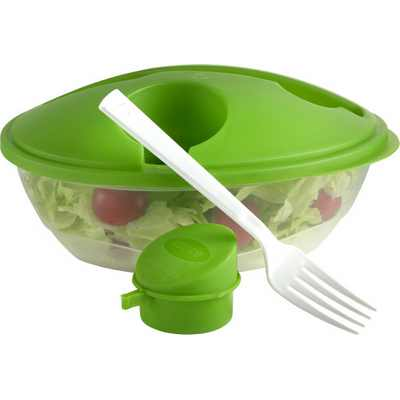 Picture of Oval shaped salad box.