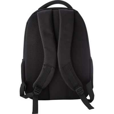 Picture of Polyester (1680D) backpack.