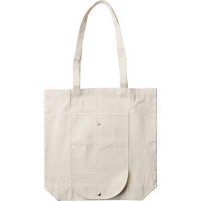Picture of Foldable cotton (250 g/m2) carry/shoppin