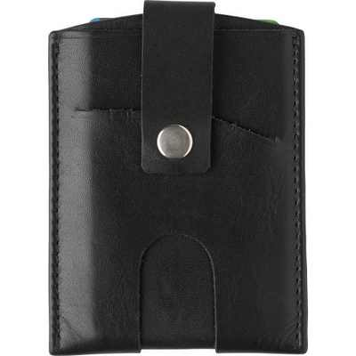 Picture of Split leather RFID credit card wallet