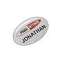 Button Badge Oval - 65 x 45mm