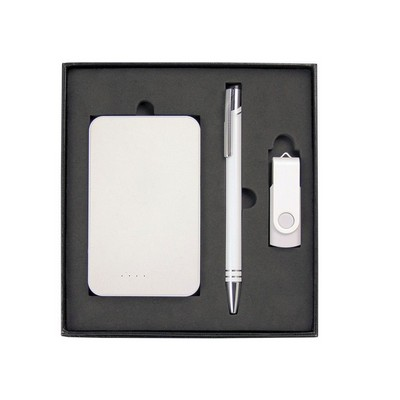 Picture of Gift Set with Charger, 8Gb Lacquered Rot