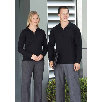 Picture of Merino Zip Pullover - Womens