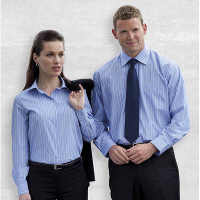 Picture of The Euro Corporate Stripe Shirt - Mens
