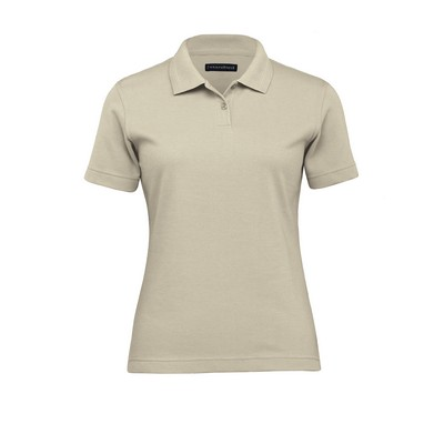 Picture of Jacquard Ottoman Balmoral Polo - Womens