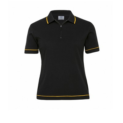 Picture of Retro Waffle Polo - Womens