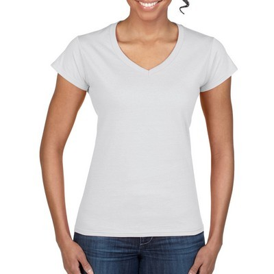 Picture of Gildan Softstyle Ladies V-Neck T-Shirt W