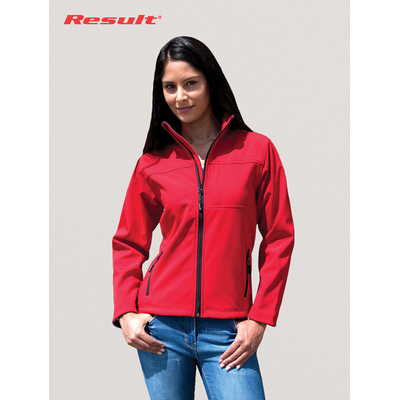 Picture of Result Ladies Classic Soft Shell Jacket