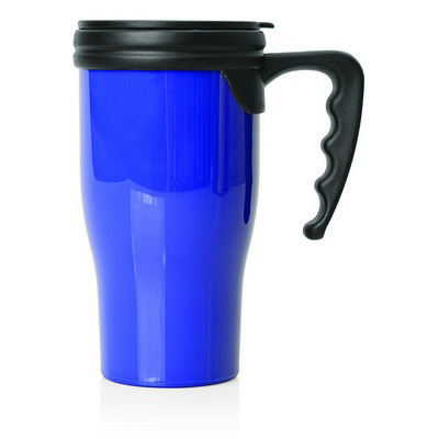 Picture of Double Wall Plastic Thermo Travel Mug