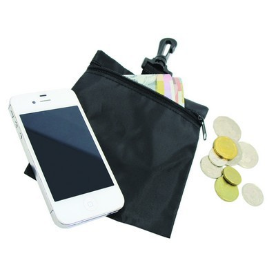 Picture of Zip Pouch With Safety Clip