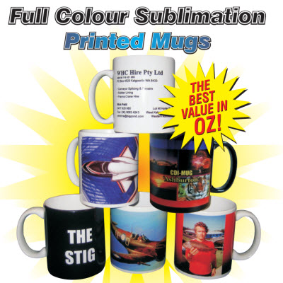 Picture of Full Colour Sublimation Printed Mugs