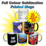Full Colour Sublimation Printed Mugs