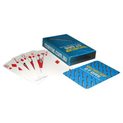 Picture of 57x88mm Playing Cards - 4 C