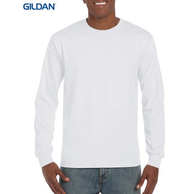 Picture of Gildan Ultra Cotton Adult Long Sleeve T-Shirt White