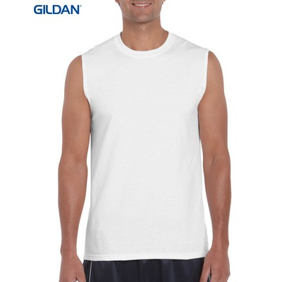 Picture of Gildan Ultra Cotton Adult Sleeveless T-Shirt Colours
