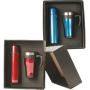 Travel Mug & Flask Set - Red or Blue