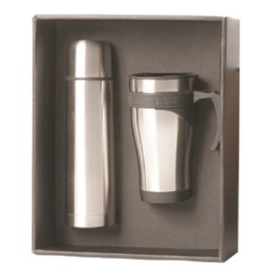 Picture of Travel Mug & Flask Set
