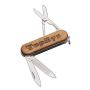 3 Implement Wooden Pocket Knife