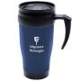 Travel Mug Red, Blue or White