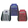 Fliptop Pocket Calculator Blue, Red, Gre