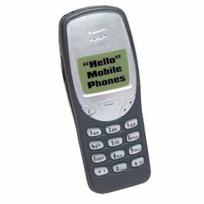 Picture of Stress Mobile Phone - Grey or Pink