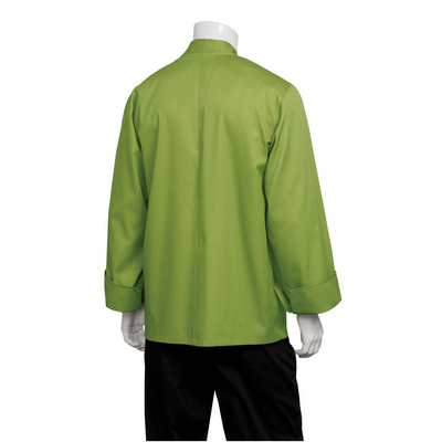 Picture of Genova Lime Basic Chef Jacket