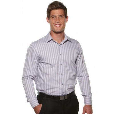 Picture of Kensington - Semi Fit Long Sleeve Business Shirt