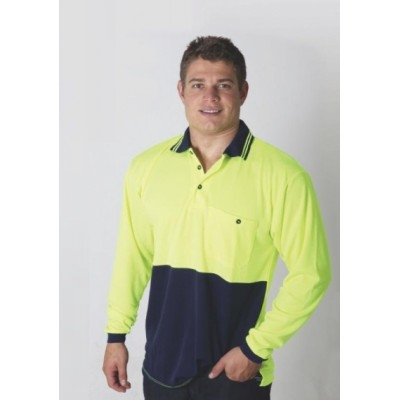 Picture of Hi Vi Micromesh L/S Polo