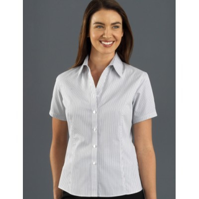 Picture of Herringbone Stripe Womens Business Shirt