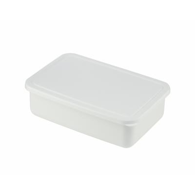 Picture of Lunch Box Shallow - White