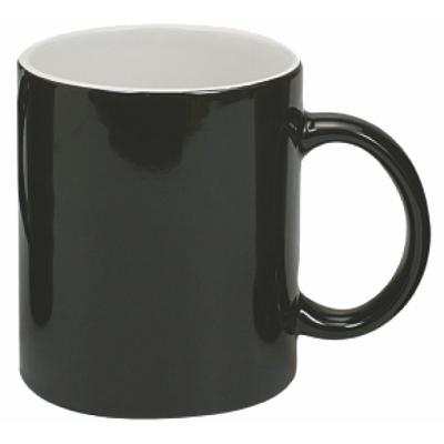 Picture of Black/ White Classic Can Coffee Mug