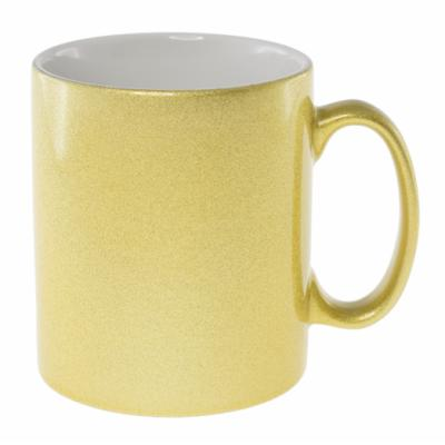 Picture of Sublimation Classic Can Coffee Mug - Gold/White