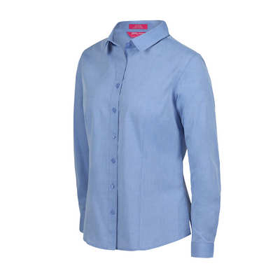 Picture of JBs Ladies Classic L/S Fine Chambray Shirt