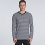 Match Stripe L/S Tee (new)