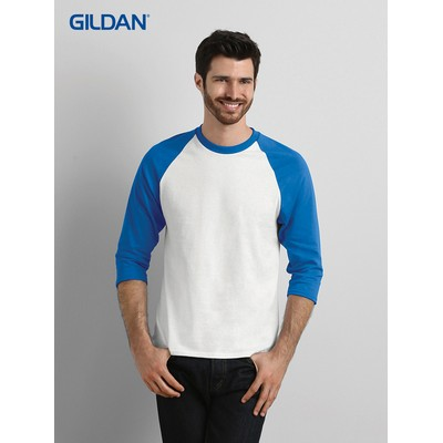Picture of Gildan Heavy Cotton 3/4 Raglan T-Shirt Colours