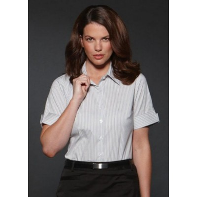 Picture of Argento - Semi Fit Short Sleeve Business Shirt
