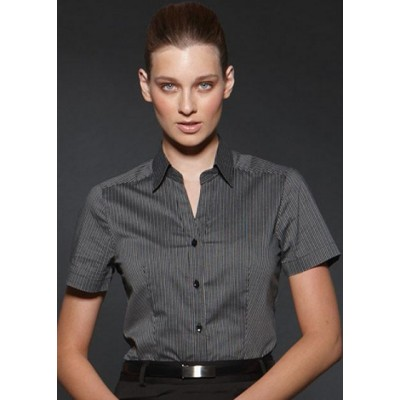 Picture of Argento - Fitted Short Sleeve Business Shirt