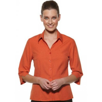 Picture of Semi Fit 3/4 Sleeve Business Shirt